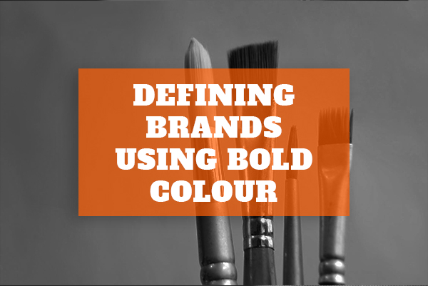Defining Brands Using Bold Colour