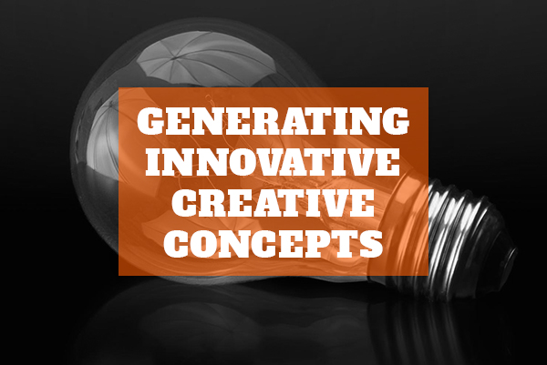 Generating innovative creative concepts