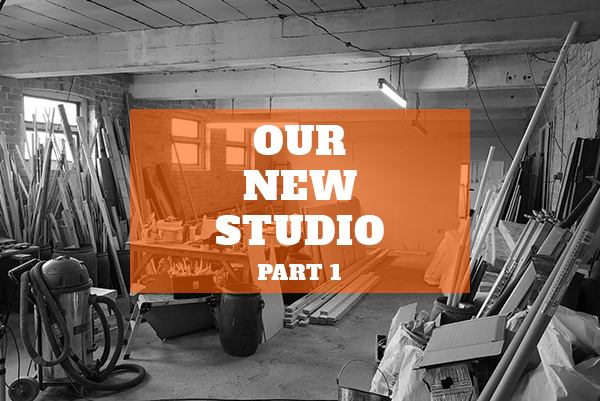 Making Our New Studio – Part 1