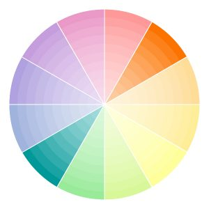 colour palette complementary