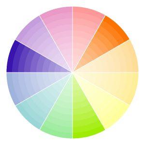 colour palette triad