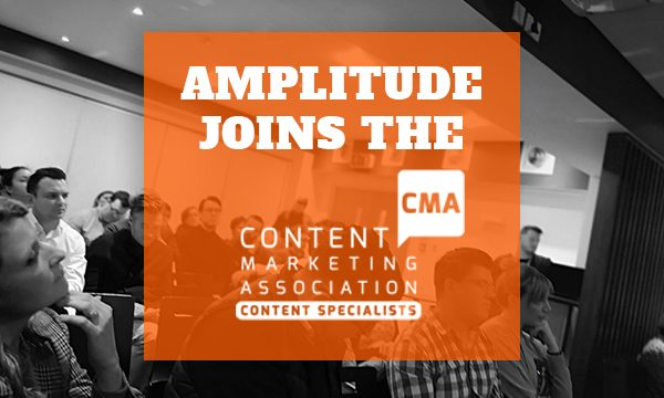 Amplitude joins the Content Marketing Association