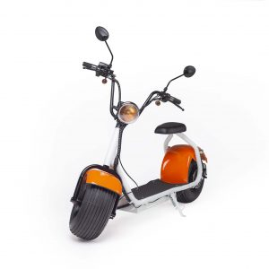 Tubby Tyre Scooter Company - Orange and White Scooter