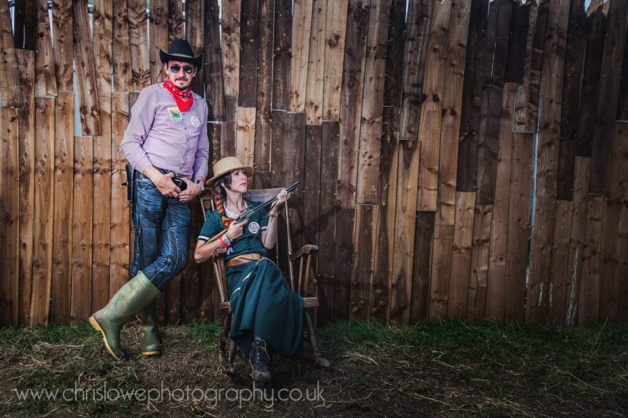 Boomtown Photo - Couple in the old west