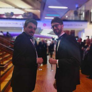 SME Northampton Business Awards Simon and Will