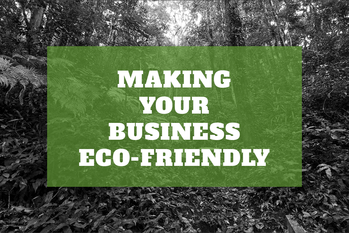 Making Your Business Eco-Friendly